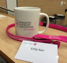 New girl's conference badge