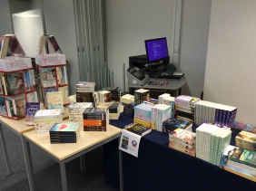 Conference book shop - most of which I bought!
